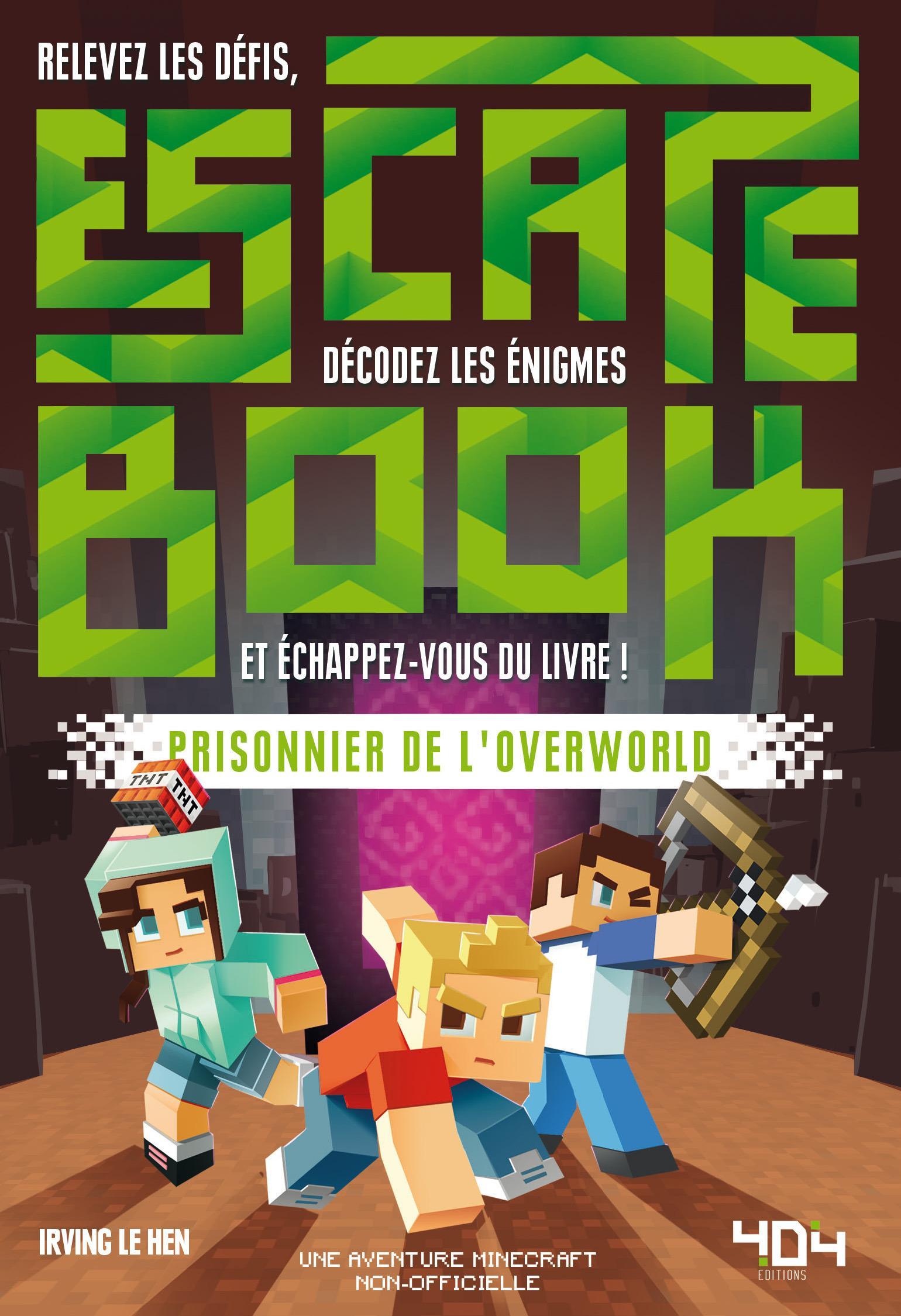 Escape Book Junior - Prisonniers de l'Overworld