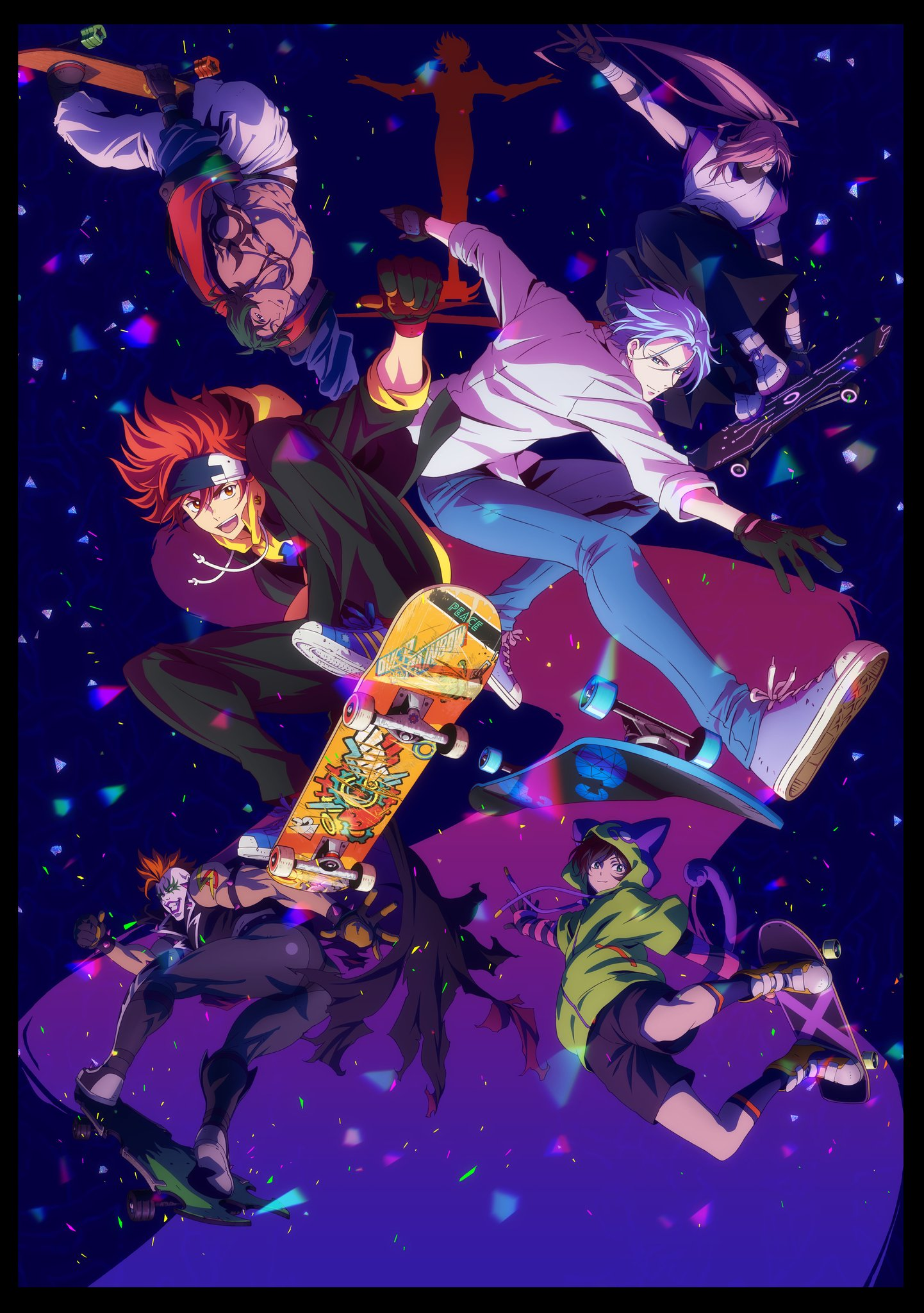 SK8 The Infinity Affiche