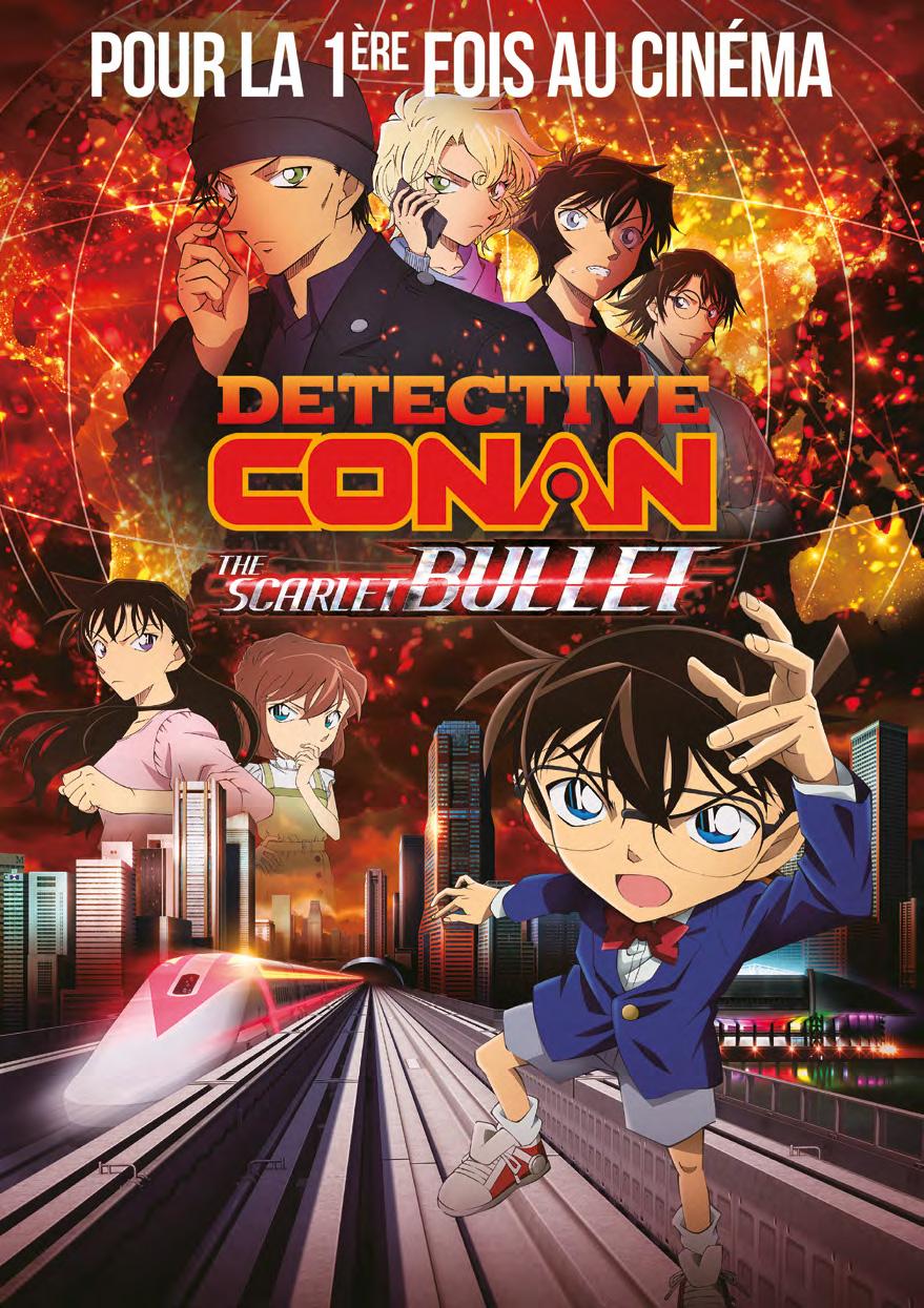 Detective Conan : The Scarlet Bullet