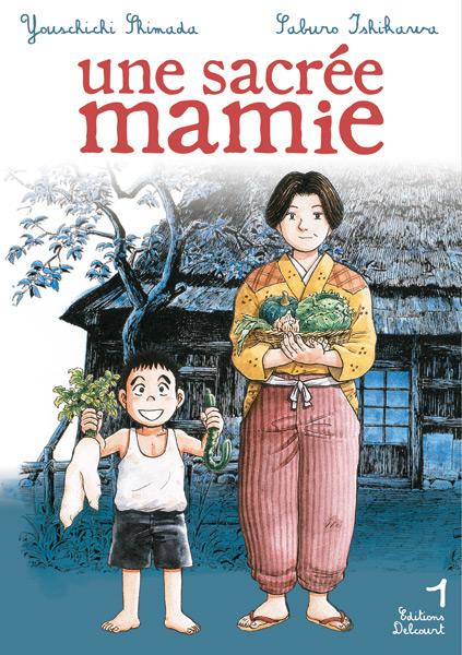Une Sacrée Mamie Manga