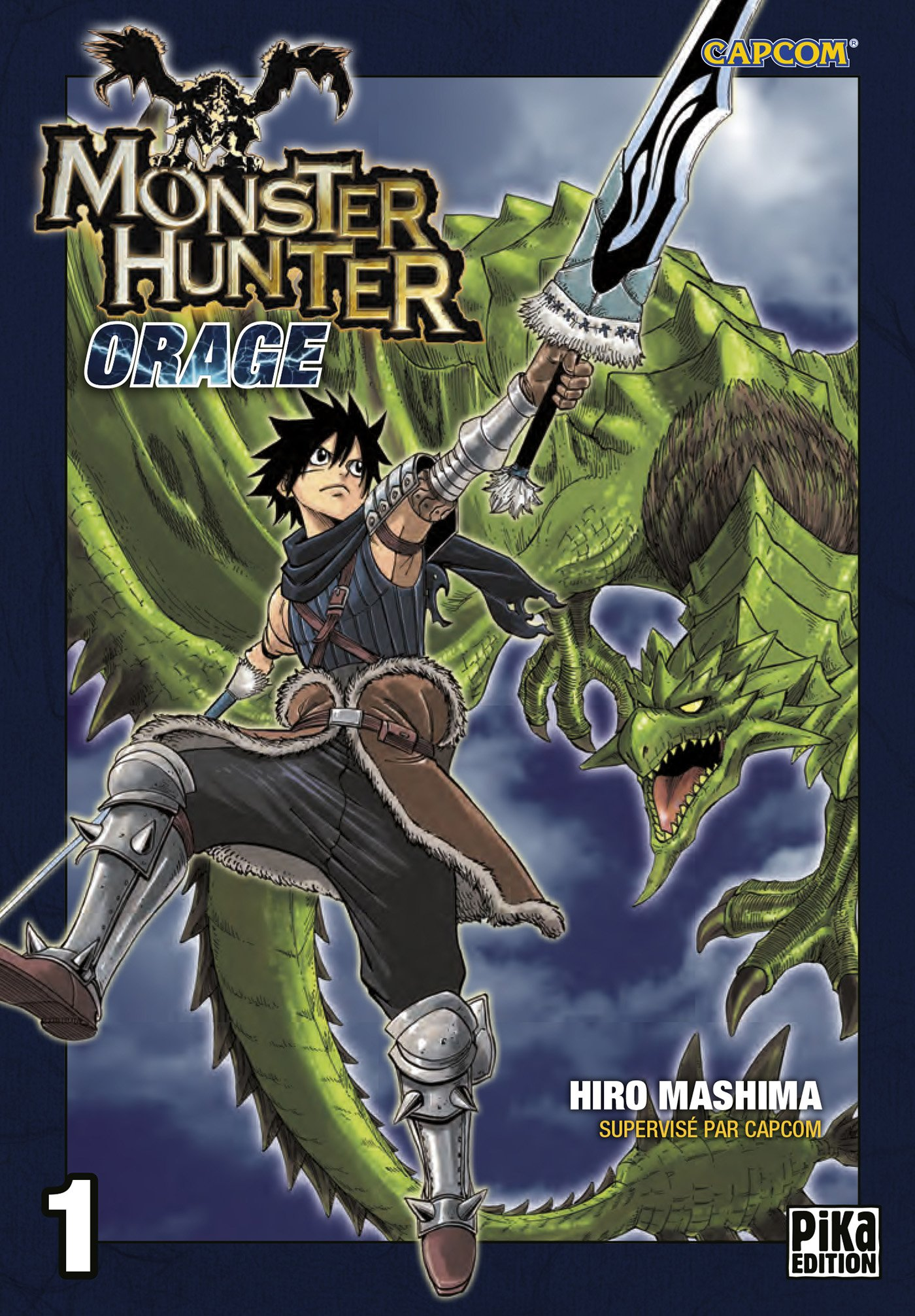 Monster Hunter Orage Manga