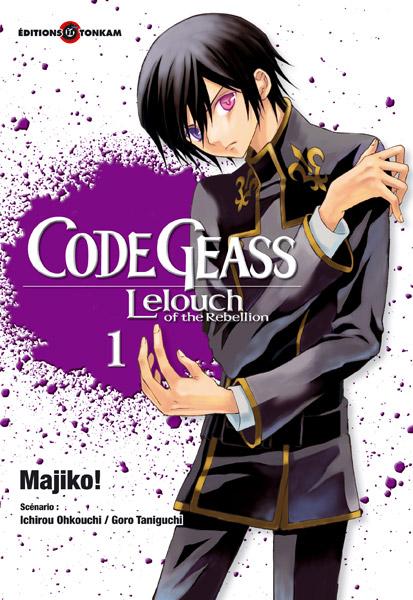 Code Geass - Lelouch of the Rebellion Manga