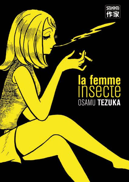 La femme insecte Manga