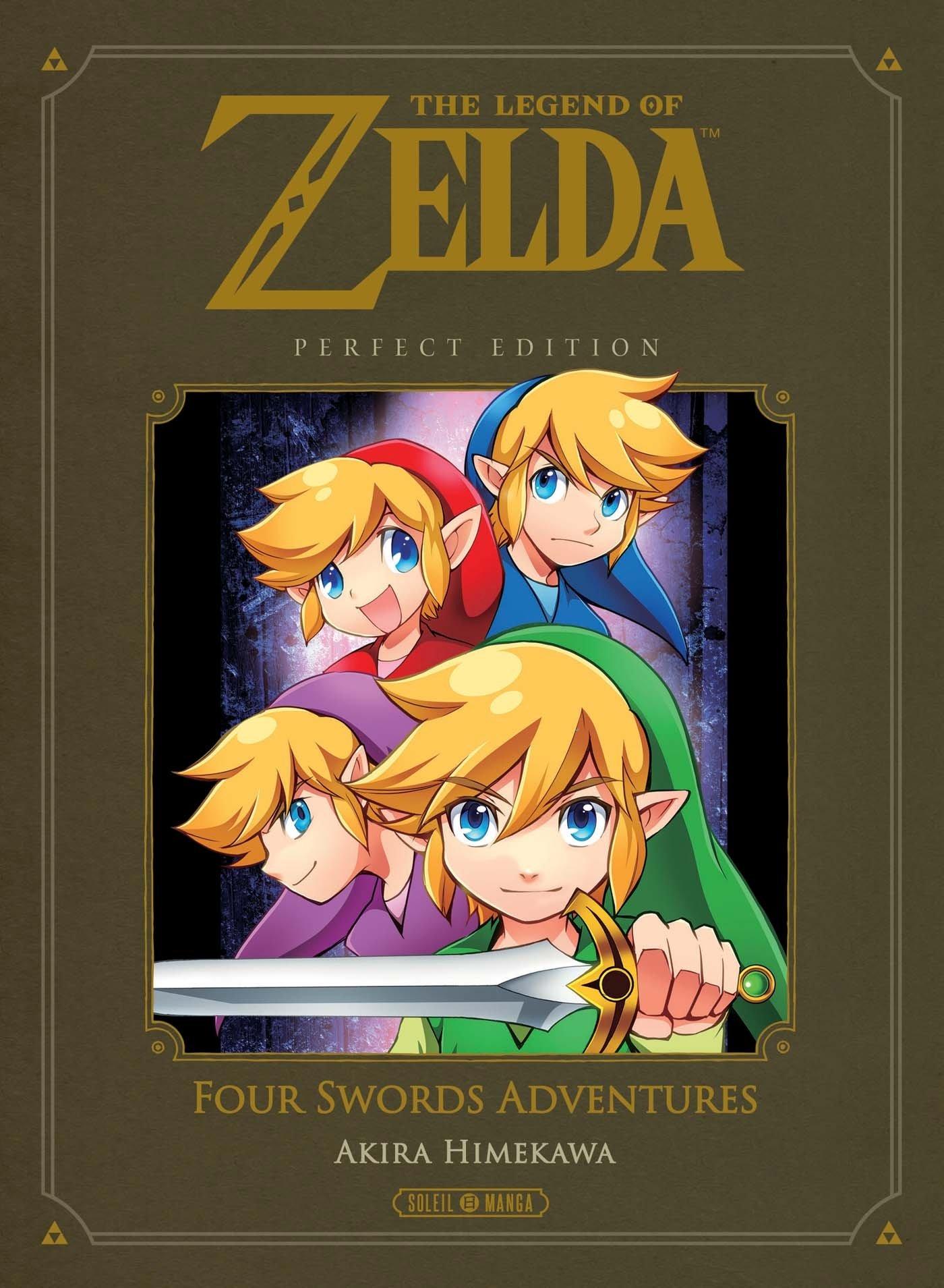 The Legend of Zelda: Four Swords Adventures Manga