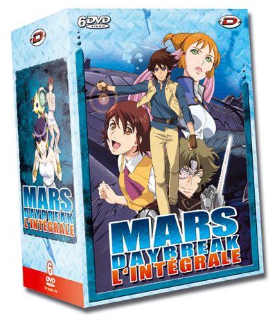 Mars Daybreak Série TV animée