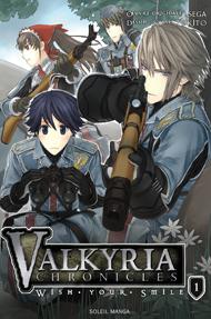 Valkyria Chronicles Wish your Smile Manga