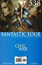 Fantastic Four 538 Comics