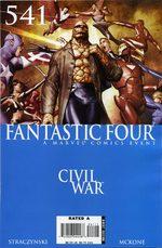Fantastic Four 541 Comics