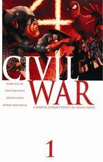 Civil War 1 Comics