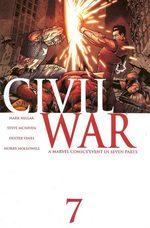 Civil War 7 Comics