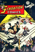 Sensation (Mystery) Comics 76