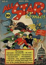 All-Star Comics # 4