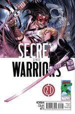 Secret Warriors # 21