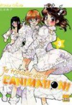 Je Travaille dans l'Animation ! 3 Manga