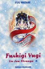 couverture, jaquette Fushigi Yûgi Première édition 6