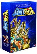 couverture, jaquette Saint Seiya - Les Chevaliers du Zodiaque COFFRET 2eme EDITION 1