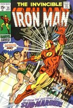Iron Man # 25