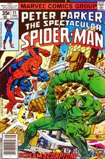 Spectacular Spider-Man # 21