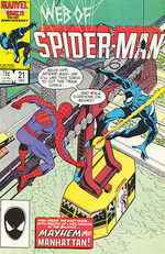 Web of Spider-Man # 21