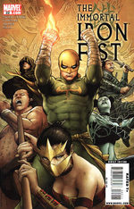 The Immortal Iron Fist # 22