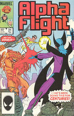 Alpha Flight 21