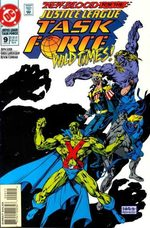 Justice League Task Force # 9
