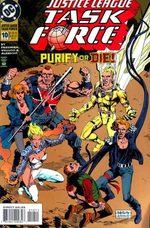 Justice League Task Force # 10