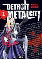 couverture, jaquette Detroit Metal City 1