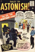 Tales To Astonish # 4