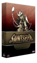 couverture, jaquette Saint Seiya - Les Chevaliers du Zodiaque COFFRET SLIM 4