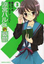 La Mélancolie de Haruhi Suzumiya 3 Manga