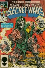 Les Guerres Secrètes # 10