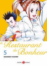 Le Restaurant du Bonheur 5 Manga
