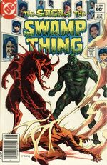 The saga of the Swamp Thing # 4