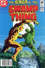 The saga of the Swamp Thing # 11
