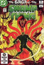 The saga of the Swamp Thing # 13