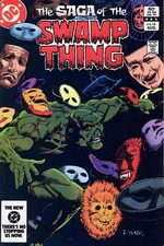 The saga of the Swamp Thing # 16