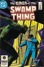 The saga of the Swamp Thing # 21