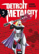 couverture, jaquette Detroit Metal City 3