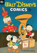 Walt Disney's Comics and Stories 154
