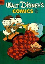 Walt Disney's Comics and Stories 155