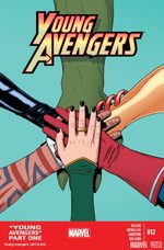 Young Avengers # 12