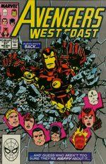 Avengers West Coast # 51