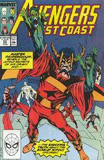 Avengers West Coast # 52