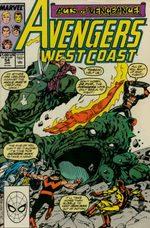 Avengers West Coast # 54