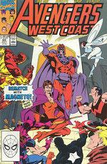 Avengers West Coast # 60