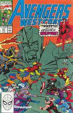 Avengers West Coast # 61