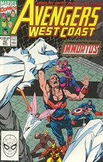 Avengers West Coast # 62