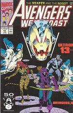 Avengers West Coast # 66