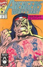 Avengers West Coast # 72